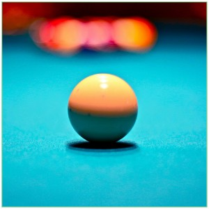 Behind the White Ball - Mark Strobl