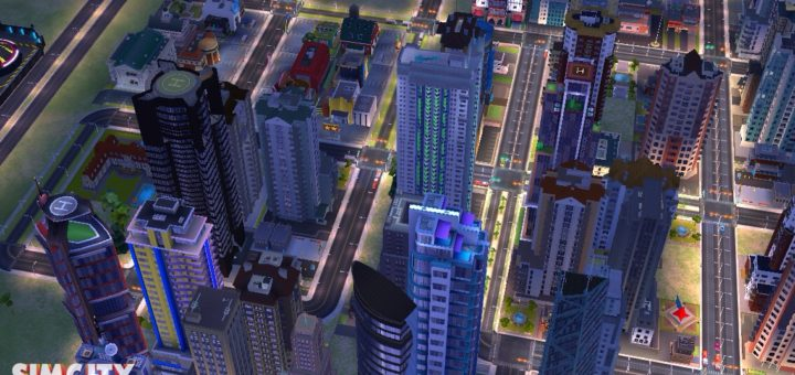 In-game screenshot of part of Jared's city in SimCity BuildIt.